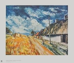 20x24 Maurice Vlaminck Print Musee d'Art Modern... - $37.23
