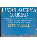 I Hear America Cooking by Fussell, Region Herit... - $11.99