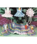 X190 Crochet PATTERN ONLY Easter Tree Pattern D... - $6.45
