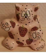 Meowberry Kitty Bank - pink ceramic by Ganz - $8.00
