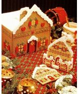 X456 Plastic Canvas PATTERN ONLY Gingerbread Vi... - $10.45