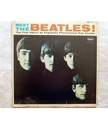 Meet the Beatles their first album 3 BMI 1964 Vinyl VG+ Capitol T2047 Mono LP