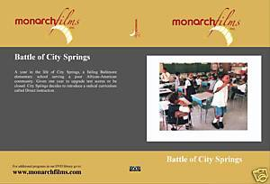 BATTLE OF CITY SPRINGS