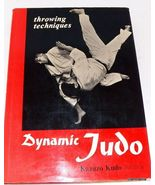 Scarce~DYNAMIC JUDO~Throwing Techniques~Kazuzo Kudo, HC, DJ, 1967 1st ed