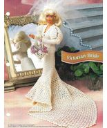 X775 Crochet PATTERN ONLY Victorian Bride Gown ... - $10.45