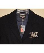 Ralph Lauren Polo Navy Wool Blazer Size 8 New - $95.00