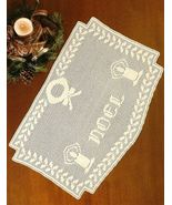 X913 Filet Crochet PATTERN ONLY Noel Christmas ... - $7.45