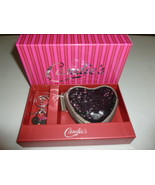 CANDIE'S BLACK OR SILVER CHARLOTTE SEQUIN HEART... - $9.99