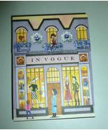 PUNCH STUDIO PURPLE ENCHANTED PARIS IN VOGUE MI... - $7.99