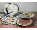 Buy stainless steel bakeware - Maxam 9 pc Stainless Steel Bakeware Set incl. Pizza Pan