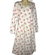 Carole Hochman Soft Tea Length Nightgown S Cotton Blend - $29.95