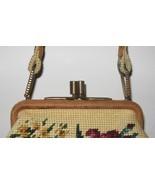 vintage Jolles originals floral needlepoint fra... - $49.99