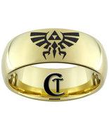9mm Gold Tungsten Carbide Legend of Zelda Skywa... - $49.00