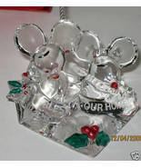 NIB LENOX BLESS THIS OUR HOME MOUSE CHRISTMAS O... - $19.30