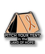 Kidney Cancer Awareness Orange Ribbon Tent Land... - $10.97