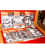 7 Home Craftsman 1955-57 Building Wood Tools Projects Home Repair Crafts - $10.00