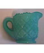 Pairpoint Miniature Creamer - Turquoise Blue - $12.99