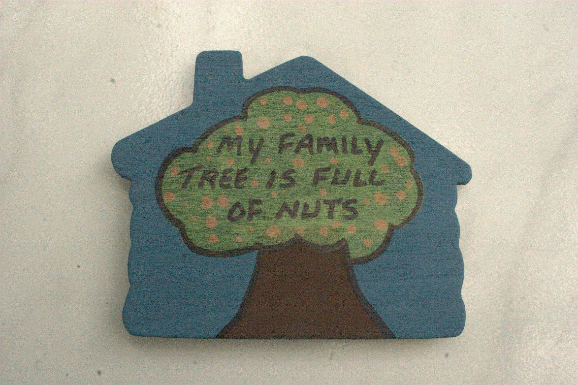 My Family Tree Is Full of Nuts refridgerator magnet