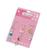 Girls Kid Jewelry Daily Seven Charm Pendants an... - $12.00