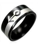 316 Black Polished Stainless Steel Gender Gay P... - $10.00