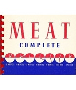 Meat Compete - A Handbook of Meat Cookery Cookb... - $4.99