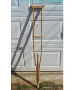 Antique One Piece Wood Crutch 62