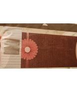 Envelope Pouch - Rose Herringbone w/ 3D paper f... - $3.00