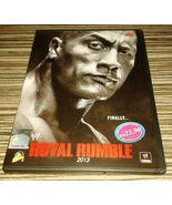 new WWE 2013 Royal Rumble Pay Per View DVD english