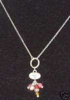 ~LIVE~ Sterling Charm & Jewel Affirmation Necklace