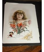 Antique Advertisement Cigarettes Lithograph Bea... - $30.00
