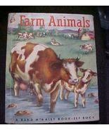 Little Elf Book Farm Animals 1952 Ratzesberger ... - $3.50