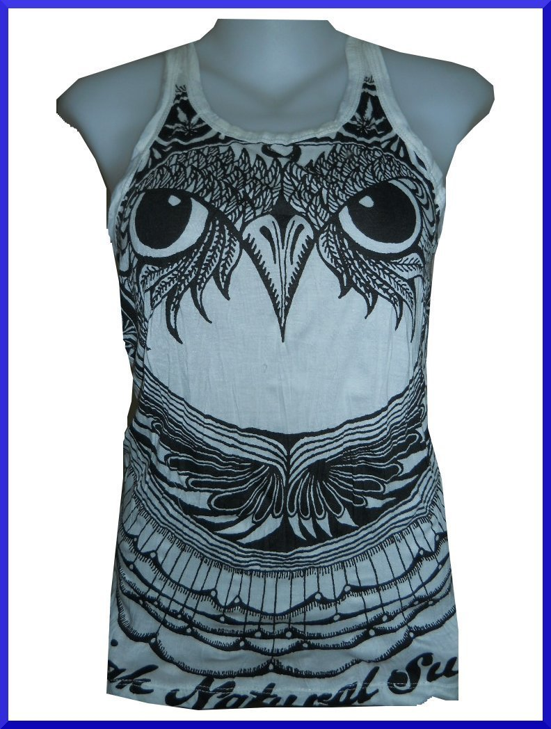 Lady TANK TOP Hawk Maltese Falcon Hobo SzF Sure Hippie