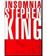 Insomnia Stephen King Large HCDJ  - $5.99