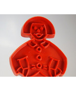 Tupperware Red Gingerbread Man Dutch Boy Cookie... - $5.88