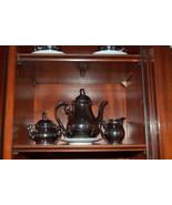 JKW Josef Kuba Wiesau Coffee Set Silver over Po... - $450.00