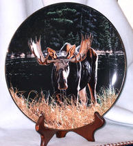 Hamilton Natures Quiet Moments MOOSE collector ... - $38.00