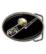 TROMBONE MUSICAL INSTRUMENTS ORCHESTRA BELT BUCKLE - $7.99