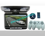 "Buy Car Video Players - NEW 9"" FLIP DOWN LCD CAR MONITOR DVD PLAYER USB CD"