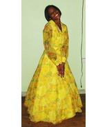 Sweet Vintage Southern Belle Floral Spring Dres... - $65.00