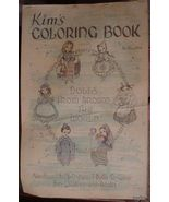 Vintage - Kim's Coloring Book by Red Farm Studio - $15.00