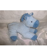 Ty Pluffies Blue Horse - $15.99