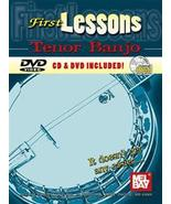 First Lessons Tenor Banjo/Book w/CD/DVD Set New!  - $14.99