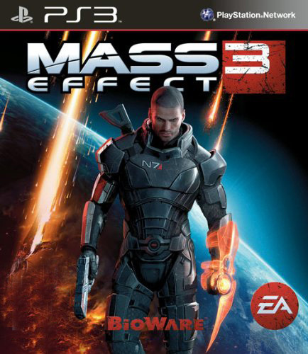 Mass Effect 3, PS3 game (AS)