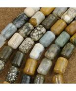 Picture Jasper Tube Beads 10mm by 15mm - $39.97