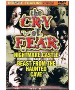 Nightmare Castle & Beast From Haunted Cave Doub... - $4.99