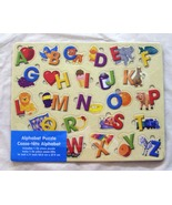 26 Piece Alphabet Board Puzzle with Tray - $5.99