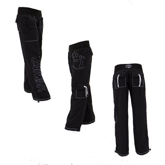 Simple Zumba Sew Black Peace LoveNJersey Pants  Women  Zulily