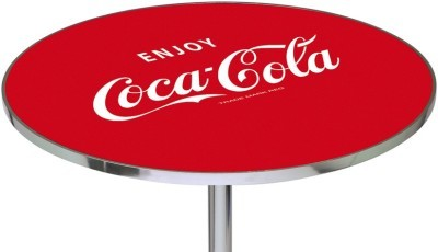 ENJOY COCA COLA COKE BOTTLE RETRO DINER PUB TABLE NEW
