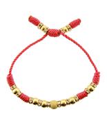 14k Yellow Gold Plated Friendship Bracelet for ... - $36.49