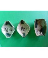 Antique Japanese Oribe Ware Ceramic Condiment D... - $105.00